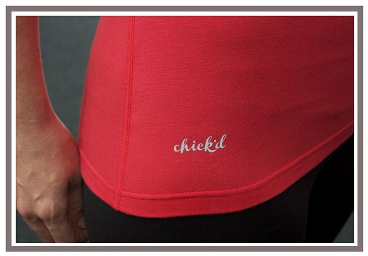 chick'd apparel - Eucalyptus Tee