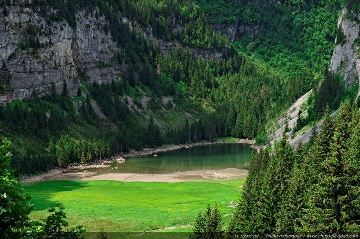 Le lac de Flaine - 04 - Flaine, Haute-Savoie