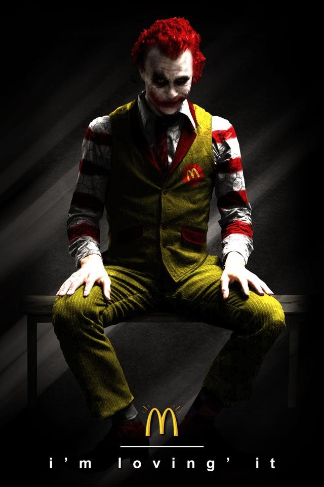 Ronald mcdonald vs the joker
