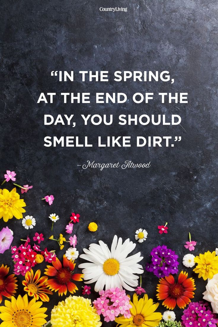 Margaret Atwood Spring Quote