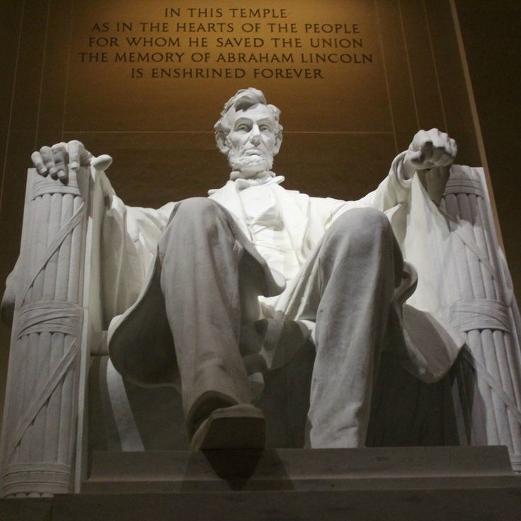 The Abraham Lincoln Memorial.  Washington D.C.