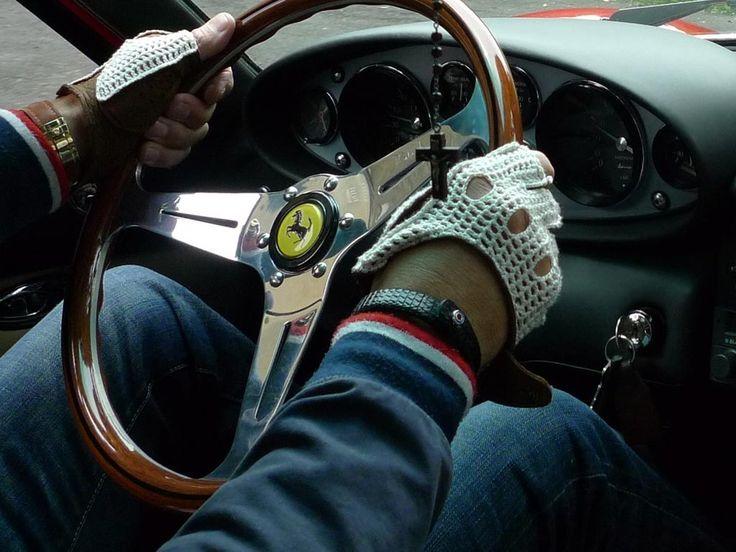 www.877workshop.com — Men's bracelet Royal Wheels black leather