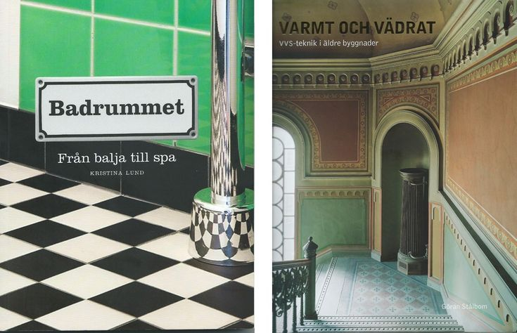 Böcker om badrum i gamla hus