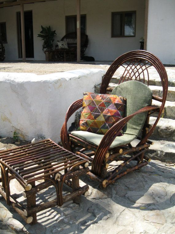 Twig Outdoor Patio Furniture New Rustic Willow Chair
