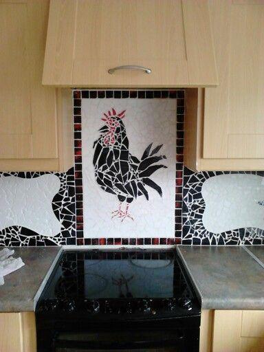 New splash back mosaic
