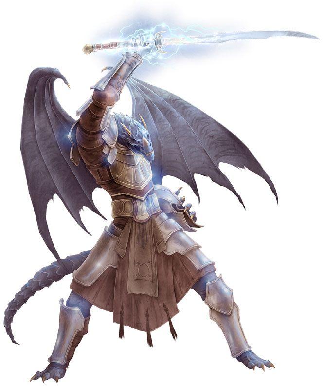 The Half-Dragon Man.  Inspiration for Fahir's character