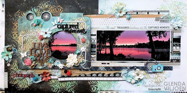 Double-page layout by Glenda Viljoen