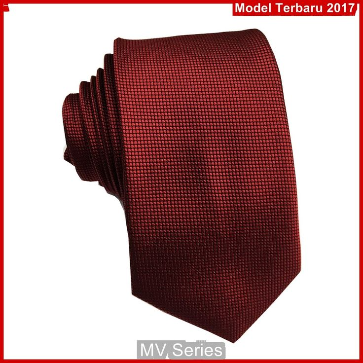 MV084 Dasi Warna Maroon Slim Merah Terbaru BMGShop