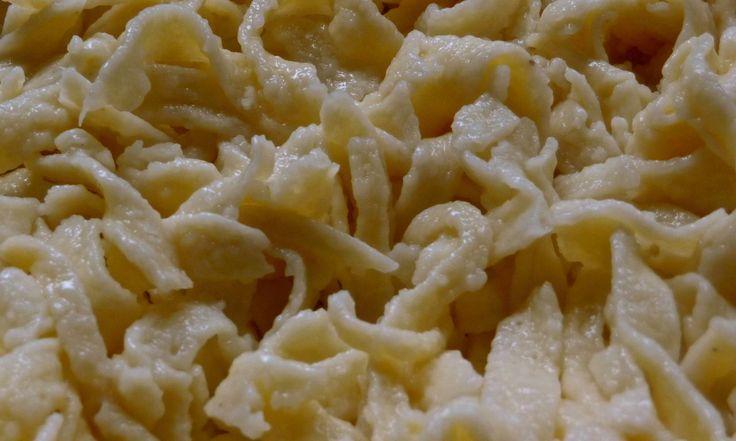 Schwäbische Spätzle - Trudels glutenfreies Kochbuch, glutenfrei backen und kochen bei Zöliakie. Glutenfreie Rezepte, laktosefreie Rezepte, glutenfreies Brot