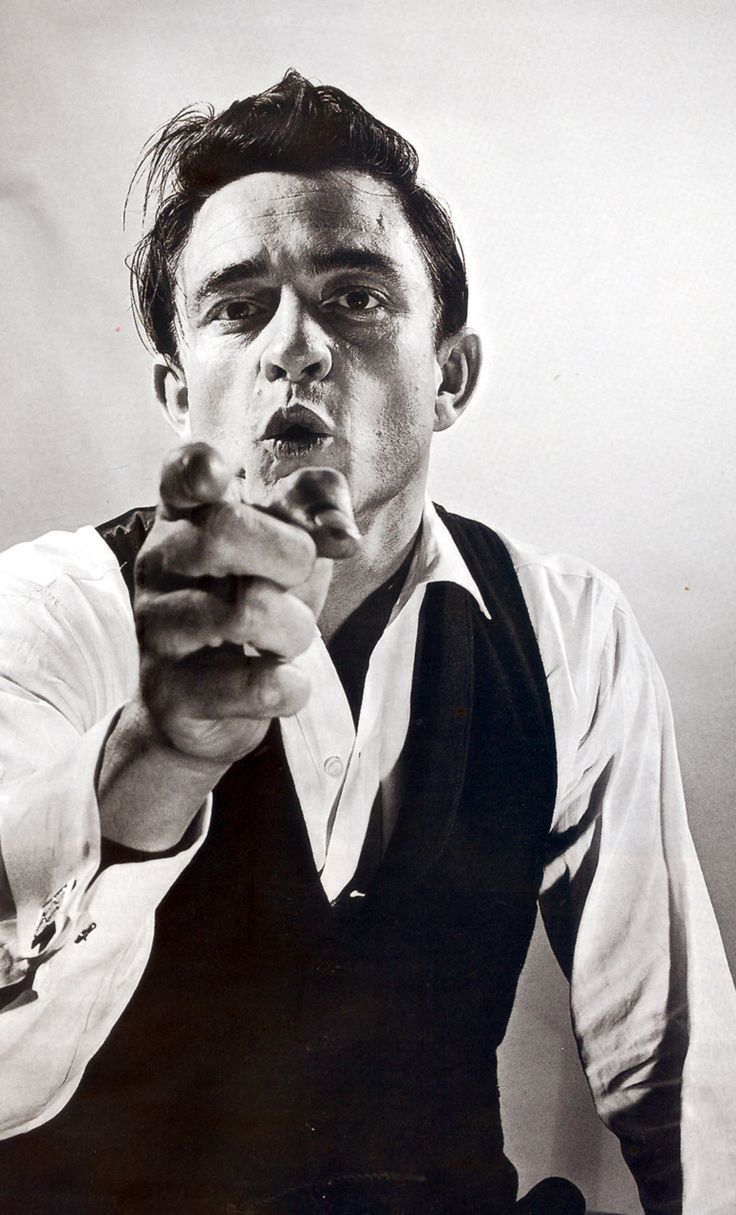 Johnny Cash. I cannot say in words how much he means to me.