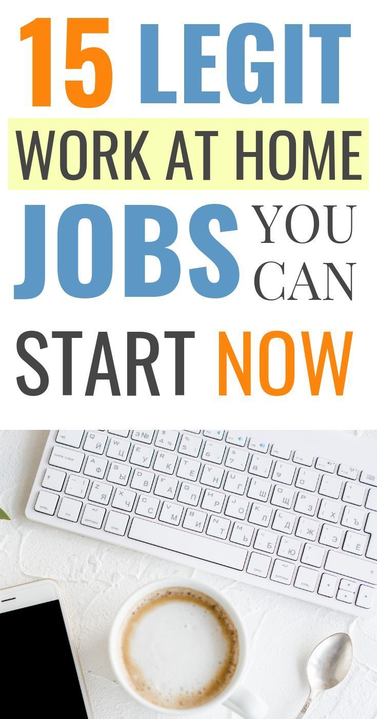 15 Legitimate Work from Home Jobs Hiring Now (2019 Edition