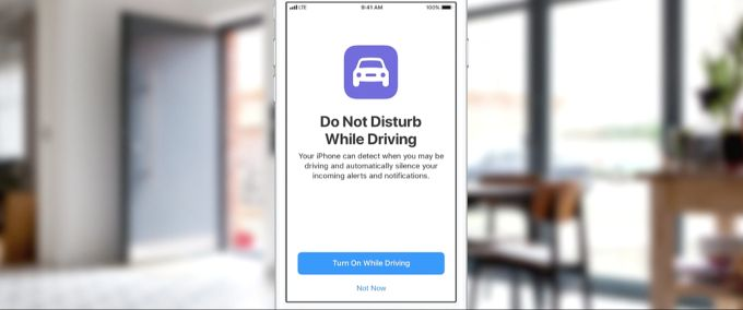 Do Not Disturb While Driving feature rolls out in Apples newest iOS 11 beta