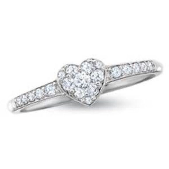 17 Best ideas about Heart Promise Rings on Pinterest