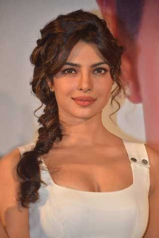 priyanka chopra's messy braid
