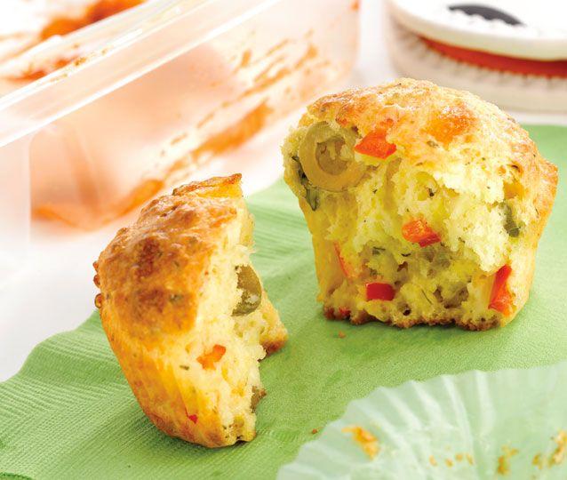 Muffins salés aux 3 fromages   L'alimentation des jeunes enfants   Yoopa.ca