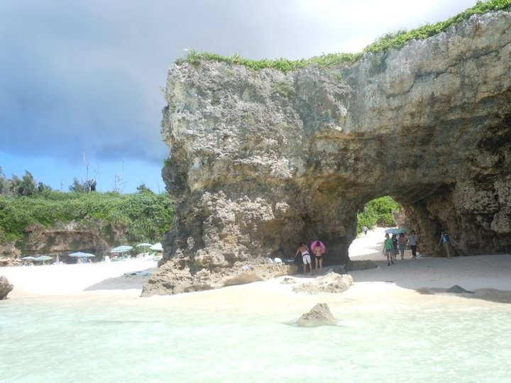Sunyama Beach in Okinawa area. A great place to visit, scuba dive and snorkel.