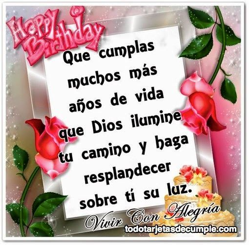 128 best images about FELIZ CUMPLEA u00d1OS on Pinterest Birthday wishes, Animales and Happy