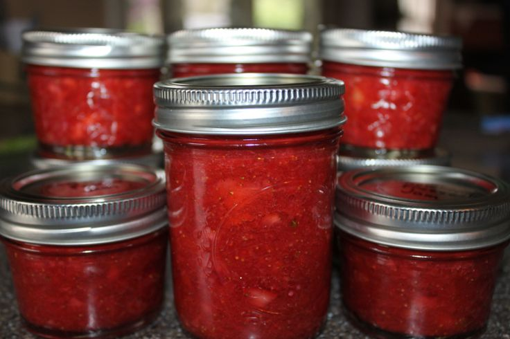 Strawberry Freezer Jam Recipe - No cooking or canning required! Old World Garden Farms