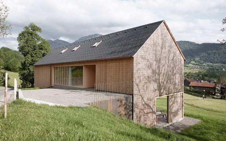 Дом для Юлии и Бьёрна (Haus für Julia und Björn) в Австрии от Innauer-Matt Architekten.