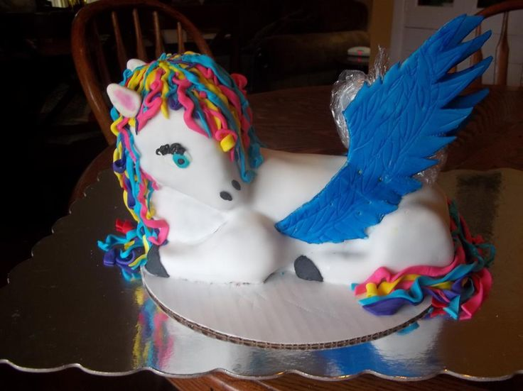 how to make a pegasus cake - gotta try-it | All Things ...