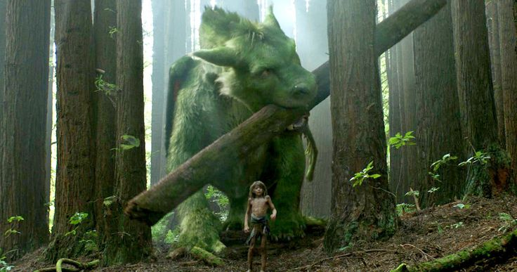 Pete's Dragon Trailer #2 Fully Reveals Elliott the Dragon -- Elliott comes out of the woods in an all-new sneak peek at Disney's upcoming remake of Pete's Dragon, in theaters this August. -- http://movieweb.com/petes-dragon-trailer-2-remake-2016/