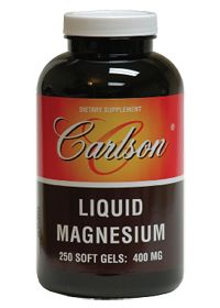 Carlson Laboratories                Liquid Magnesium 400 MG, 250.0 Each , Softgels