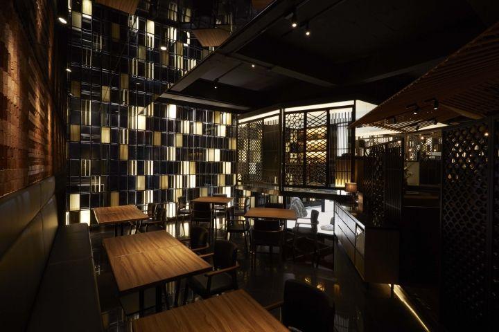 SUIGETSU ресторан японской ПРИЗМОЙ КОНСТРУИРУЮТ, Чунцин – Китай » Розничная дизайн блога