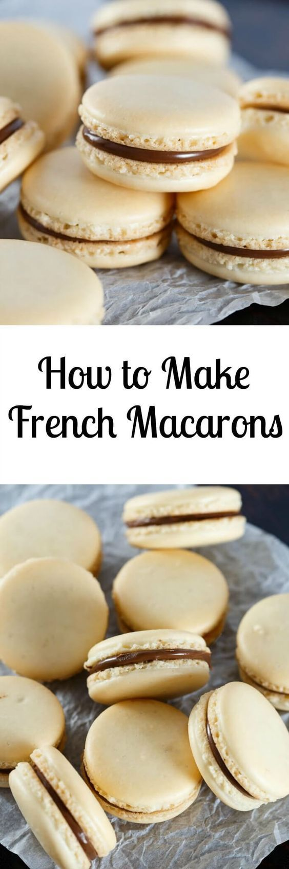 French Macaron Recipe with tutorial
