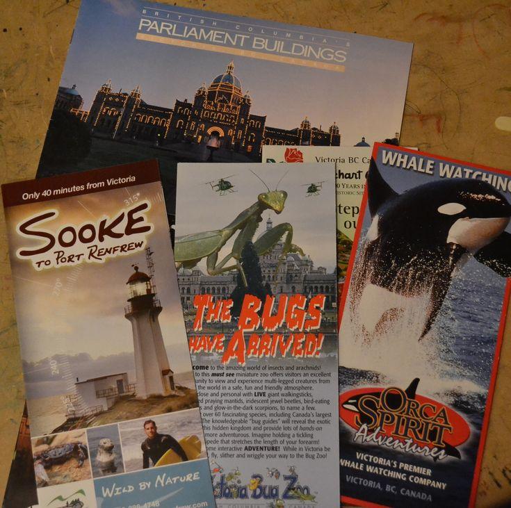 Tourism Materials. Travel Across Canada