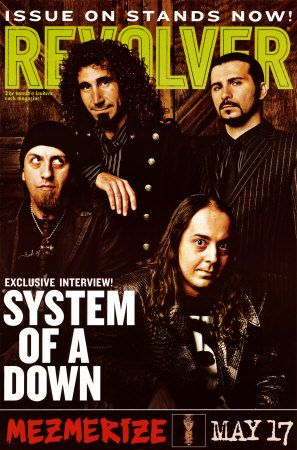 System Of A Down Poster | Cheap Framed System of a Down Posters