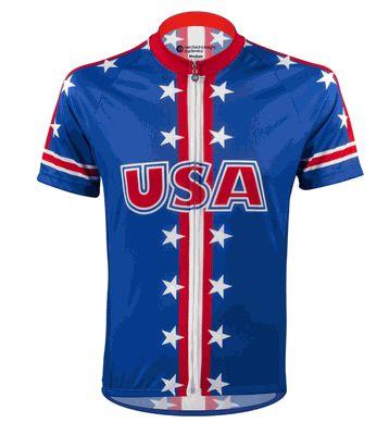 Aero Tech USA Cycling Jersey - Peloton Line