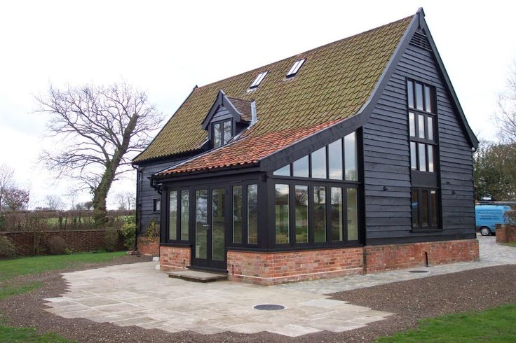 Architecturally Barn Conversion : Barn Conversion Architecture Guide Design   the sun room addition would make the whole place seem so much bigger.