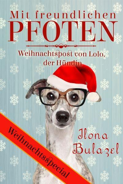 """""""Mit freundlichen Pfoten - Weihnachtspost von Lolo, der Hündin  http://www.xinxii.com/mit-freundlichen-pfoten-p-347503.html"""