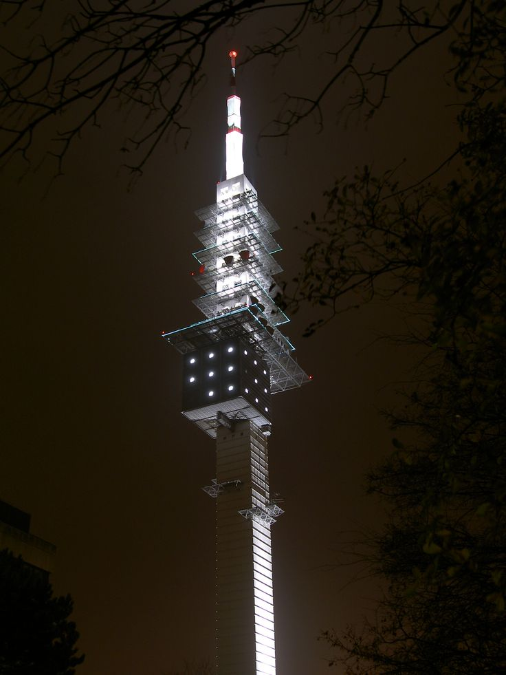 Telemax Communications tower. Hanover, Germany.