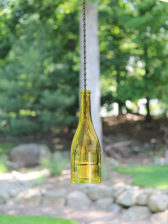 Impiccagione bottiglia di vino uragano di WinelessCreations