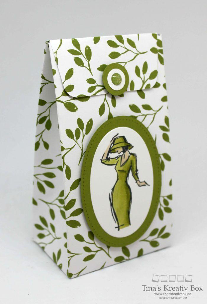 Kleine Geschenktüte mit Stil - mit Produkten von Stampin' Up!