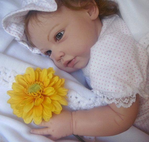 Ella Mae by Jannie de Lange LAYAWAY AVAILABLE Custom Reborn Doll Toddler Little Darlins Nursery Rita Meese Artist