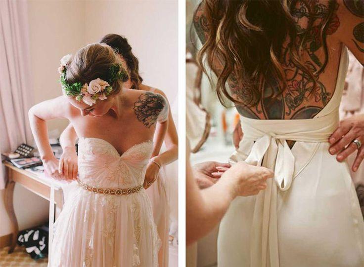 NOVIAS TATUADAS tattoo-de-novia