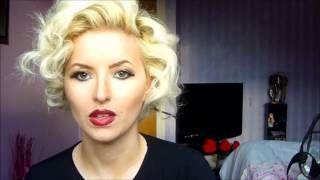 Pin-up-Frisuren für kurze Haare - YouTube