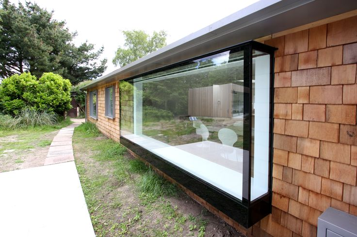 3d window | pop out window | frameless window seat | oriel window  home renovation in Suffolk by IQ Glass