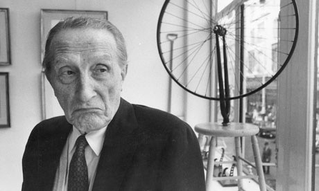 Marcel Duchamp and Bicycle Wheel