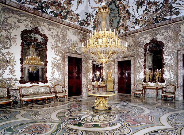 Salón de Gasparini, Palacio Real de Madrid