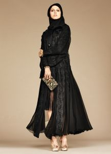 Exclusive: The Dolce & Gabbana Abaya Collection Debut -