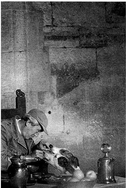 John Huston at home;  Ireland 1968;  Photo: Eve Arnold