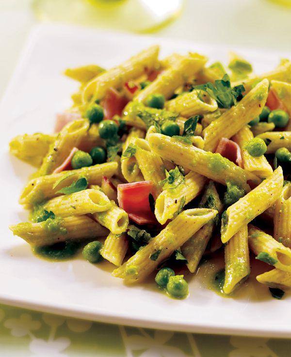 Sweet Pea Pasta Salad