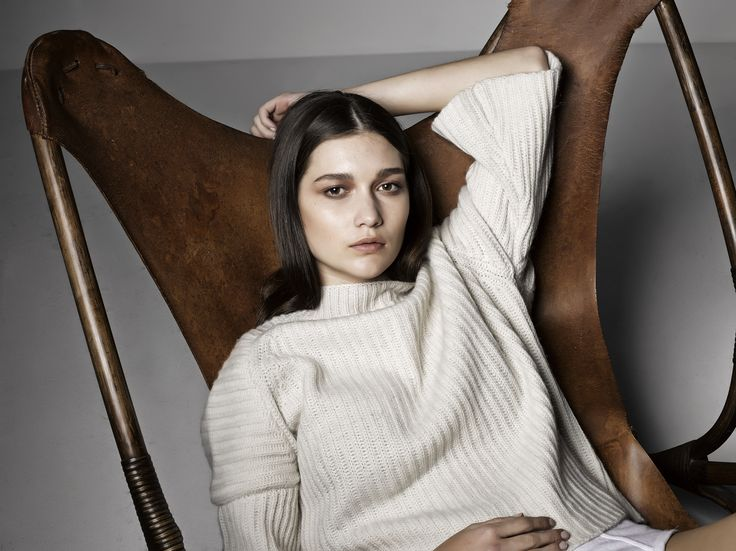 Marle Knitwear / Sarah Sweater / Cream