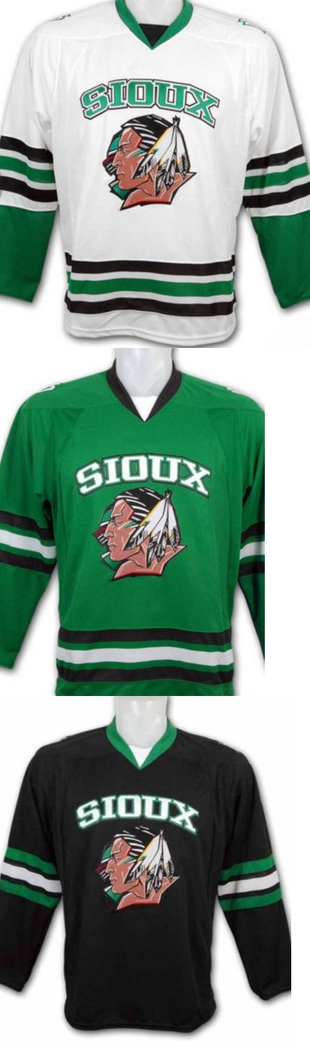 Hockey-Other 780: North Dakota Fighting Sioux Hockey Jersey Vintage S-2Xl 3 Colors Any Name Number -> BUY IT NOW ONLY: $99.99 on eBay!