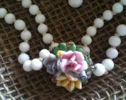 Milk Glass and Flowers