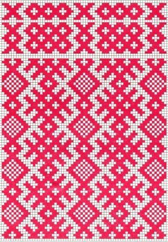 Узоры русской вышивки