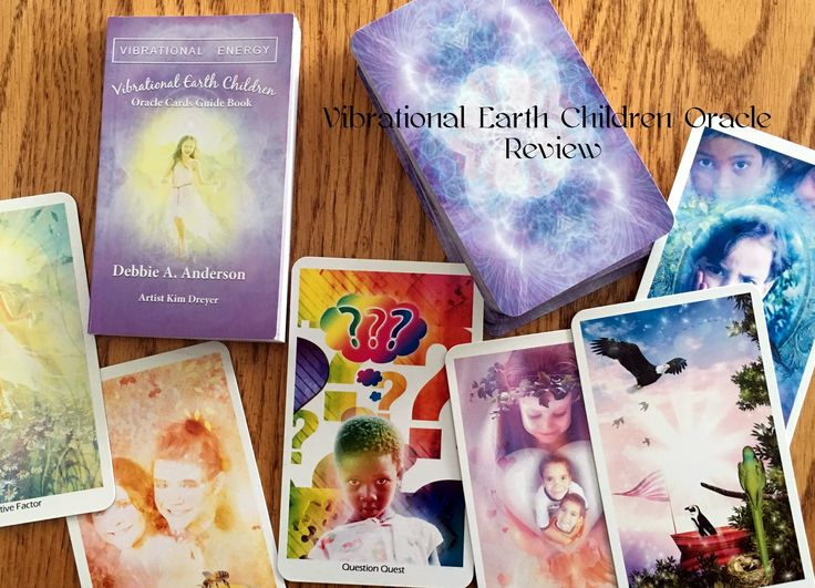 Vibrational Earth Children Oracle Deck Review